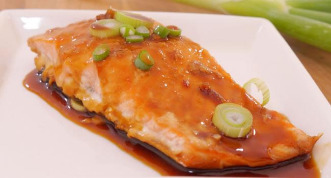 recetas con salmon agridulce